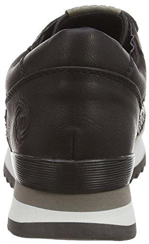 Marco Tozzi - 23702, Scarpe da ginnastica Donna Nero (Schwarz (Black Ant.Comb 096))