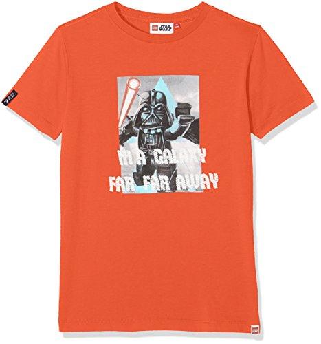Lego Wear Jungen Lego Boy Star Wars Teo 651-T-Shirt, Rot (Red 297), 140
