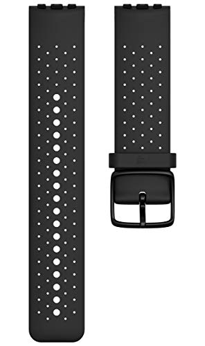 Polar Cinturino Vantage M Single Strap Bracelet de Rechange Adulte Mixte, Noir, M/L