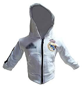 Real Madrid Baby Hoodie 0-6 months Model: (Newborn, Child, Infant) by Baby Soccer