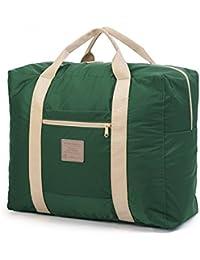 Tentock 35L Extra Large sac fourre-tout de voyage Duffle Sac fourre-tout/sac de rangement pour le sport Voyage Camping, homme et femme, rose