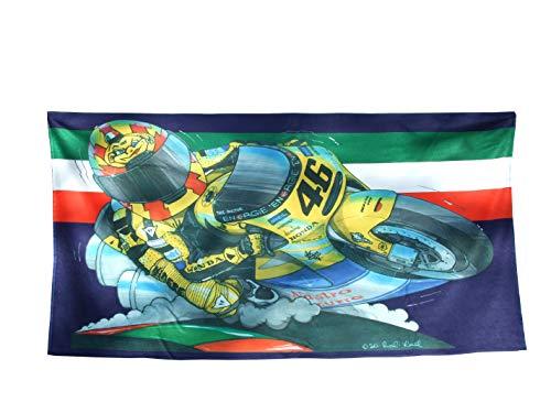 KOOLART H o n d a Moto GP VALENTINO ROSSI Badetuch Strandtuch Duschtuch Strand Badehandtuch 140 x 70 ,-1393