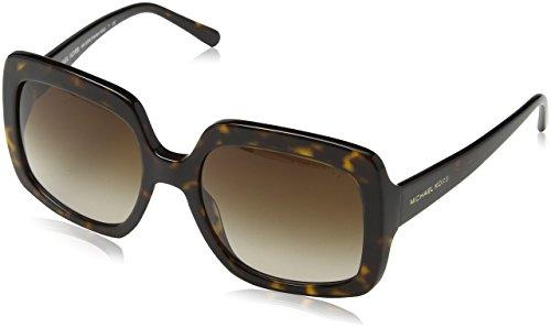 Michael Kors Damen 0MK HARBOR MIST 300613 55 Sonnenbrille, Dark Tortoise/Browngradient,