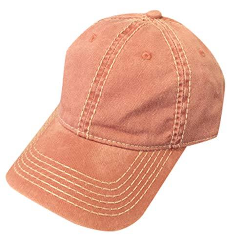HAUXIN Baseballmütze Sommer Hut Einfache Visier Lässig Sport Klassische Einfarbig Niedlich Muster Frau Atmungsaktiv Mann Unisex Einstellbar