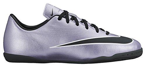 Nike Jr Mercurial Victory V Ic, Chaussures de Football Compétition Mixte Enfant Plateado / noir / jaune / Blanc (Urbn Lilac / Blk-Brght Mng-Blanc)