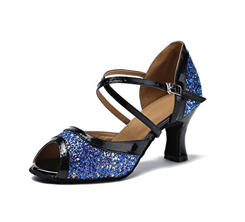 Miyoopark - Ballroom donna Blue-7cm Heel