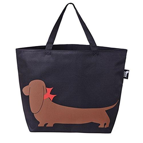"Bassotto borsa, borsa frigo isolata, cooler bag, borsa per la spesa, borsa""impy, all'esterno oxford tessuto, 30 litri"