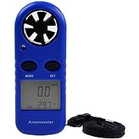 LCD Metro Di Misura Della Temperatura Indicatore Anemometro Digitale Velocità Gauge