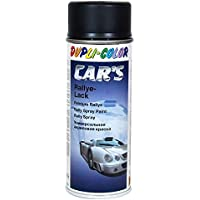 Dupli Color 652240 Cars Lackspray, 400 ml, Schwarz Seidenmatt