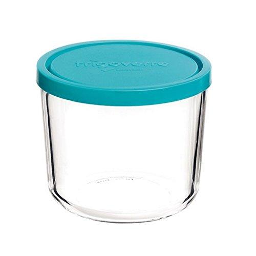 Contenitore per alimenti in vetro TEMPERATO conservare frigorifero freezer Bormioli Frigoverre 12 Alta