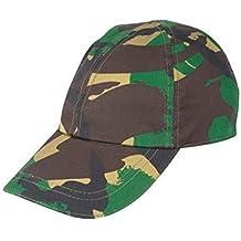 Niños gorra de camuflaje del ejército - militar para niños Juegos de Rol - gorra de béisbol Camo