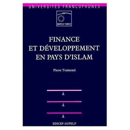 Finance et développement en pays d'Islam