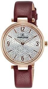 Daniel Klein Analog Silver Dial Women's Watch-DK11472-7