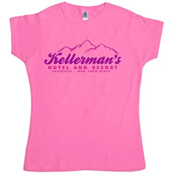 Womens Inspired By Dirty Dancing T Shirt - Kellermans - Azalea - Medium (10-12)