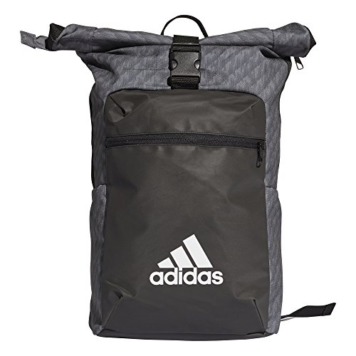 Preisvergleich Produktbild Adidas Unisex-Erwachsene Athl Core BP Rucksack,  Grau (Gricua / Negro / Blanco),  24x36x45 centimeters