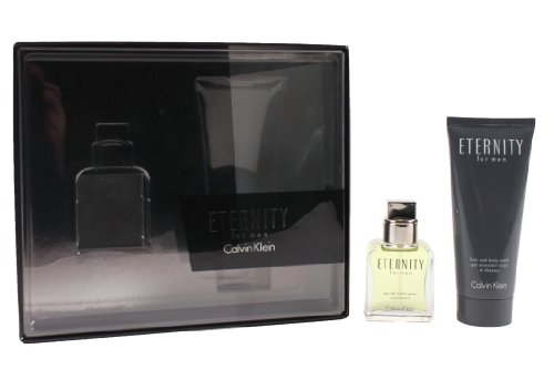 Calvin Klein Eternity Geschenkset homme / men, Eau de Toilette,Duschgel, 1er Pack (1 x 100 ml, 1 x 30 ml)
