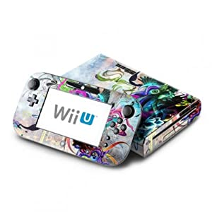 DecalGirl Nintendo Wii U Skin Design Aufkleber Sticker Set – Streaming Eye