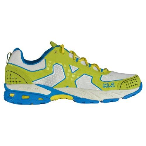 Jack Wolfskin Hideaway - Chaussures de running - jaune/blanc 2014 Sulphur