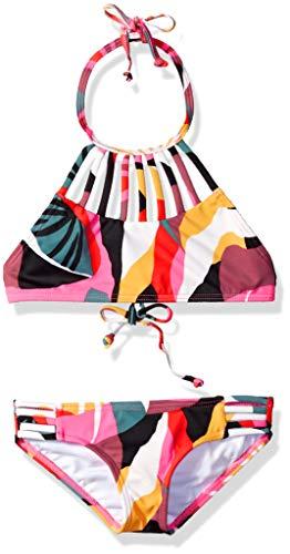 Billabong Garten (BILLABONG Mädchen Dream Time High Neck Two Piece Bikini-Set, Multi, 36)
