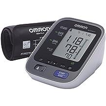 Omron M6 Comfort IT - Tensiómetro de brazo, color blanco y negro