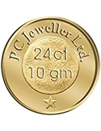 PC Jeweller 10 gm, 24KT (995) Yellow Gold Coin