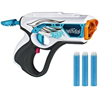 Nerf Rebelle Toy - Lumanate Blaster with Glowing Darts