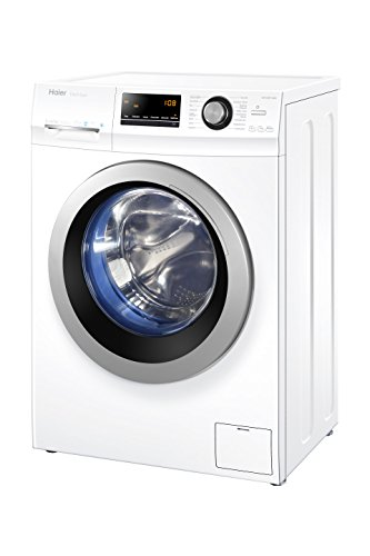 Haier HW70-BP14636 Waschmaschine Frontlader/A+++ / 99 kWh/Jahr / 1400 UpM / 7 kg/Vollwasserschutz/ABT/weiß