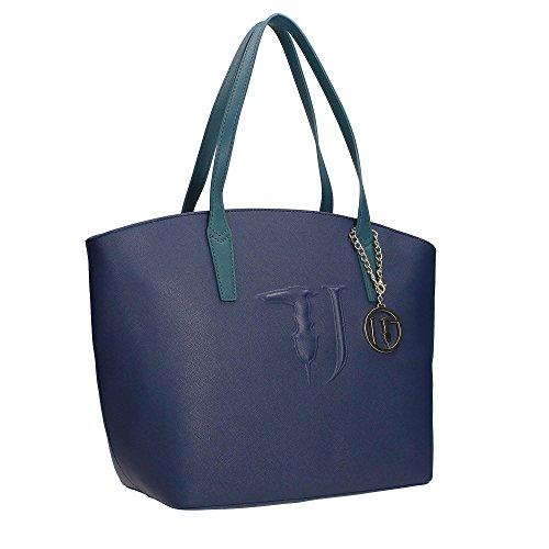 Trussardi Jeans 75B560XX Sac Shopper Femme blue