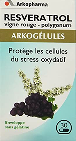 Arkopharma Phytothérapie Standard Arkogélules Resvératrol 30