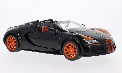 bugatti-veyron-164-grand-sport-vitesse-schwarz-orange-modellauto-fertigmodell-rastar-118
