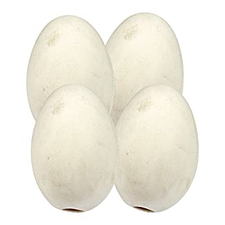 Wolseley 4 PACK - CHINA CHICKEN NEST EGGS Artificial Poultry Coop to Encourage Laying AND Tigerbox® Antibacterial Pen. 15