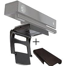Pandaren Xbox One Kinect montaje de TV sensor 2,0 clip de soporte de sujeción con cubierta de la cámara