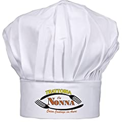 Idea Regalo - Cappello cuoco Nonna