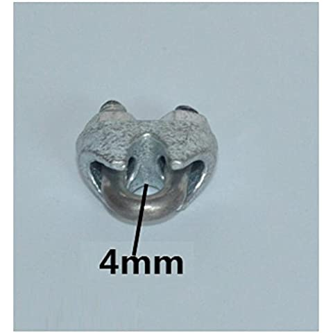 BJVB Cuerda de alambre eslingas cadenas fija alambre tuerca de fijación fijación Clip iluminación lámparas y Accessories(40 package) . l 6mm