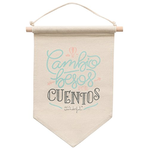 Banderín Mr. Wonderful: Cambio besos por cuentos