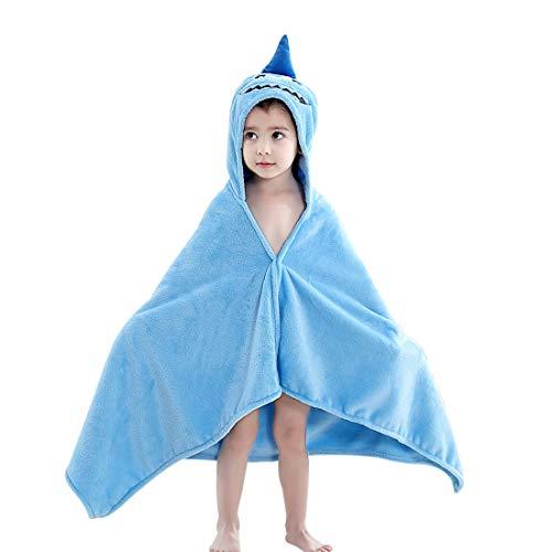 45a957227529 Asciugamano con cappuccio Coperta infantile Asciugamano da bagno morbido  Fumetto Con cappuccio Unisex Accappatoio Poncho Costume