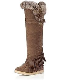 AdeeSu - Botas de nieve mujer