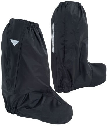 Tour Master Deluxe Boot Rain Covers - Large/Black by Tourmaster -