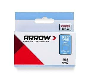Arrow 160658 P22 Boîte de 5000 agrafes 6 mm