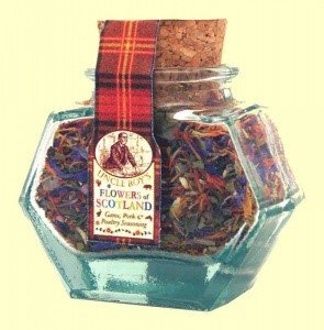 Mini Flowers of Scotland Jar
