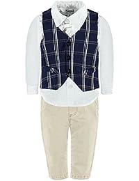 Kanz Jungen Anzug Weste + Hemd 1/1 Arm + Hose