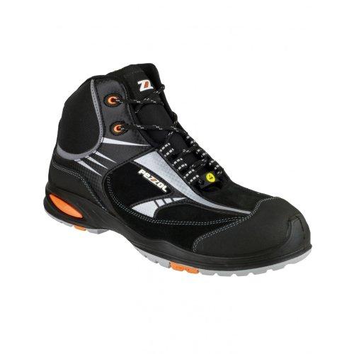 Pezzol Formula 2 822 - Chaussures montantes de sécurité - Homme Noir