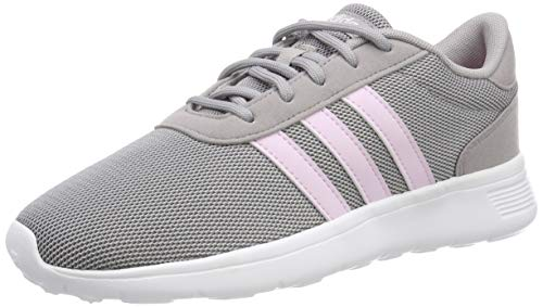 adidas Lite Racer, Damen Laufschuhe, Grau (Light Granite/Aero Pink S18/Ftwr White), 38 EU (5 UK)