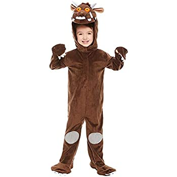 Girls Boys Childs Gruffalo Monster TV Movie Film World Book Day Week Fancy  Dress Costume 3 10 Years (8 10 Years)