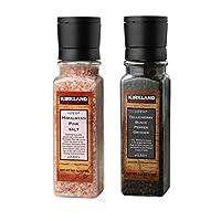 Kirkland Signature Himalayan Pink Salt Salt and Pepper Grinder Set