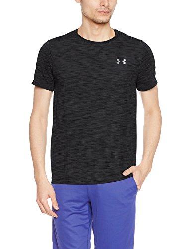 Under Armour Herren HeatGear Fitted Threadborne Knit Short Sleeve Shirt (Short Fitted Sleeve Shirt)