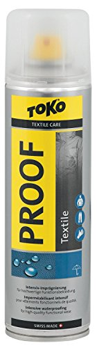 Toko Textile Proof Imprägnierspray für alle Materialien 250ml Textile Materialien