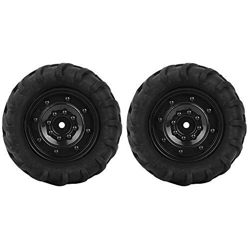 RC Auto Rad Reifen, 2 Stück 85mm RC Rennwagen Buggy LKW Reifen Rad Reifen Upgrade Teile für 1/16 Modellauto