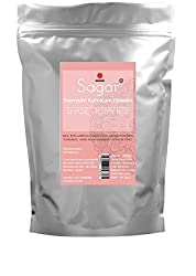 SAGAR Premium Quality Poppy RED Kum Kum Powder, Pure and Safe to apply on Skin. Shade - Poppy Red (200)