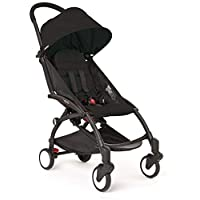 BabyZen Yoyo 6+ Stroller with Black Frame & Black Color Pack